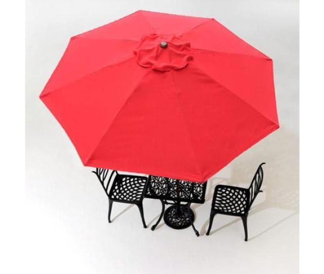 8ft 8 Ribs Patio Umbrella Replacement Canopy Outdoor Cover Top Color Optional