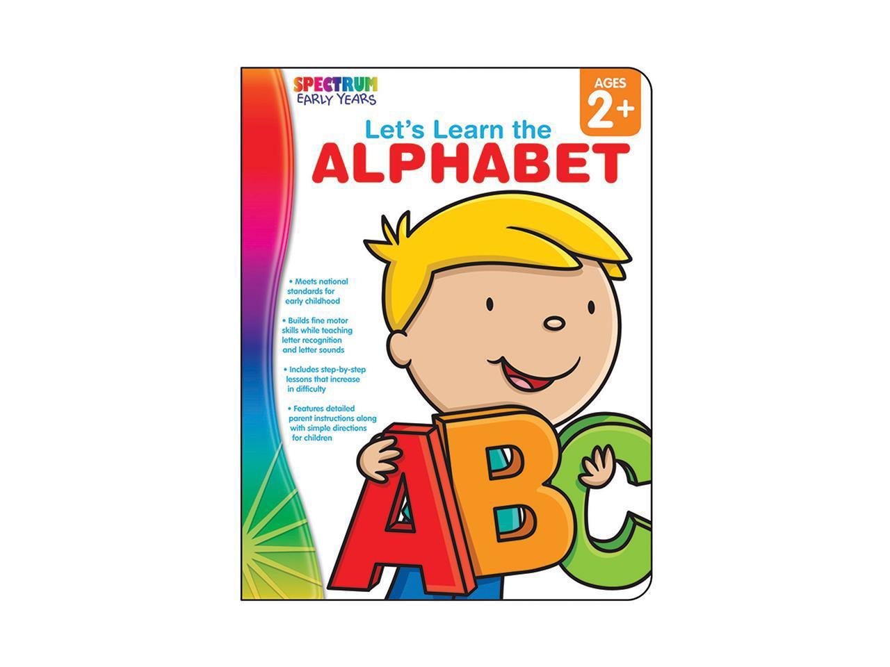 Carson Dellosa Cd Lets Learn The Alphabet Spectrum
