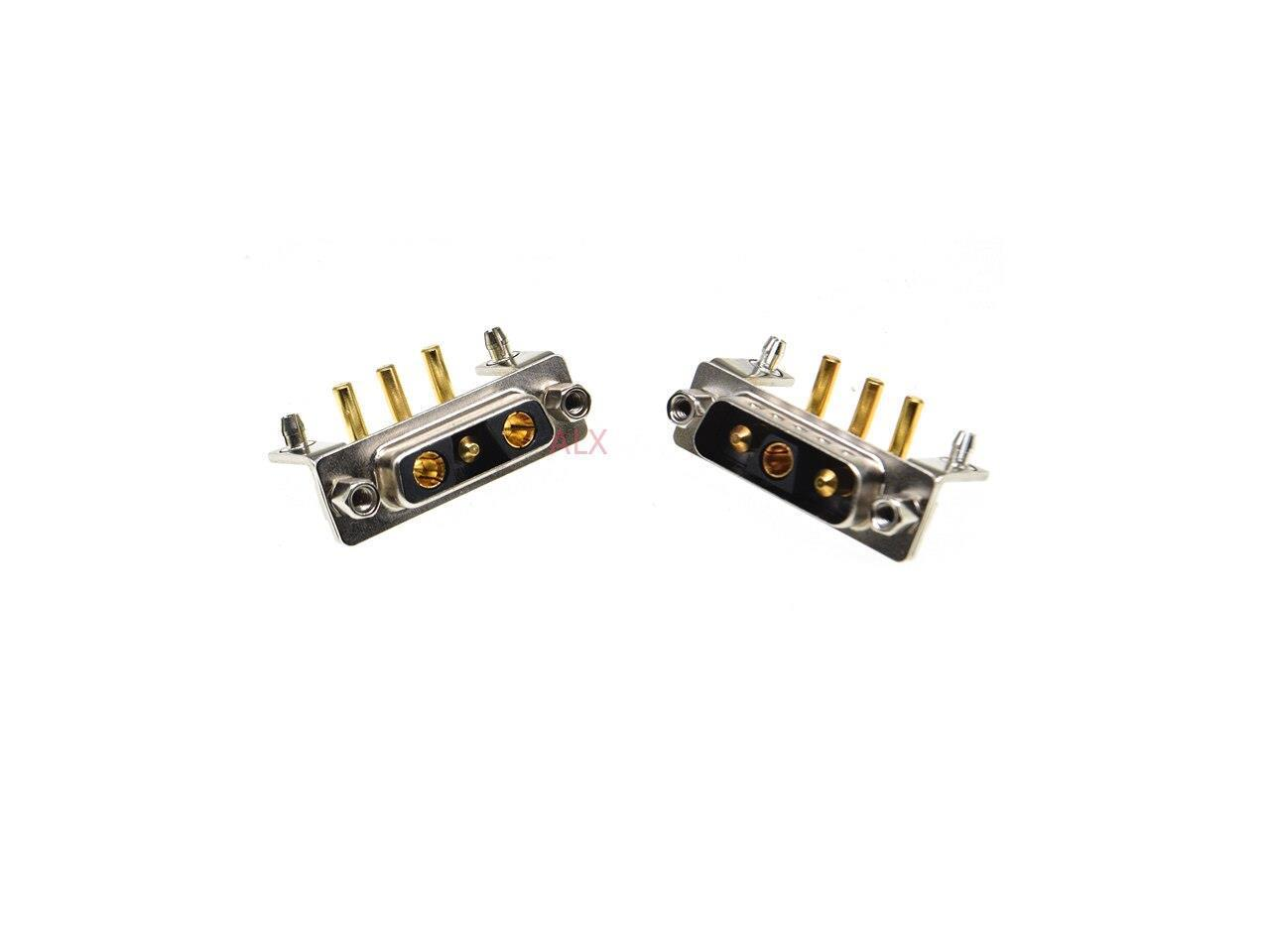 1pcs 3v3 30a Male Female High Current Connector Right