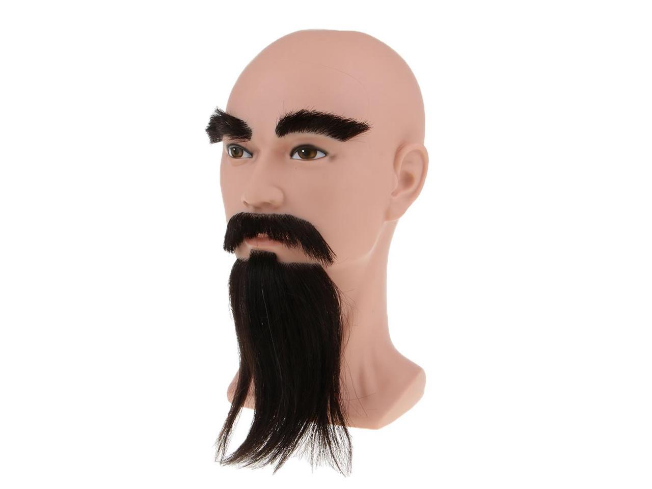 Male Cosmetology Mannequin Manikin Head With Beard For