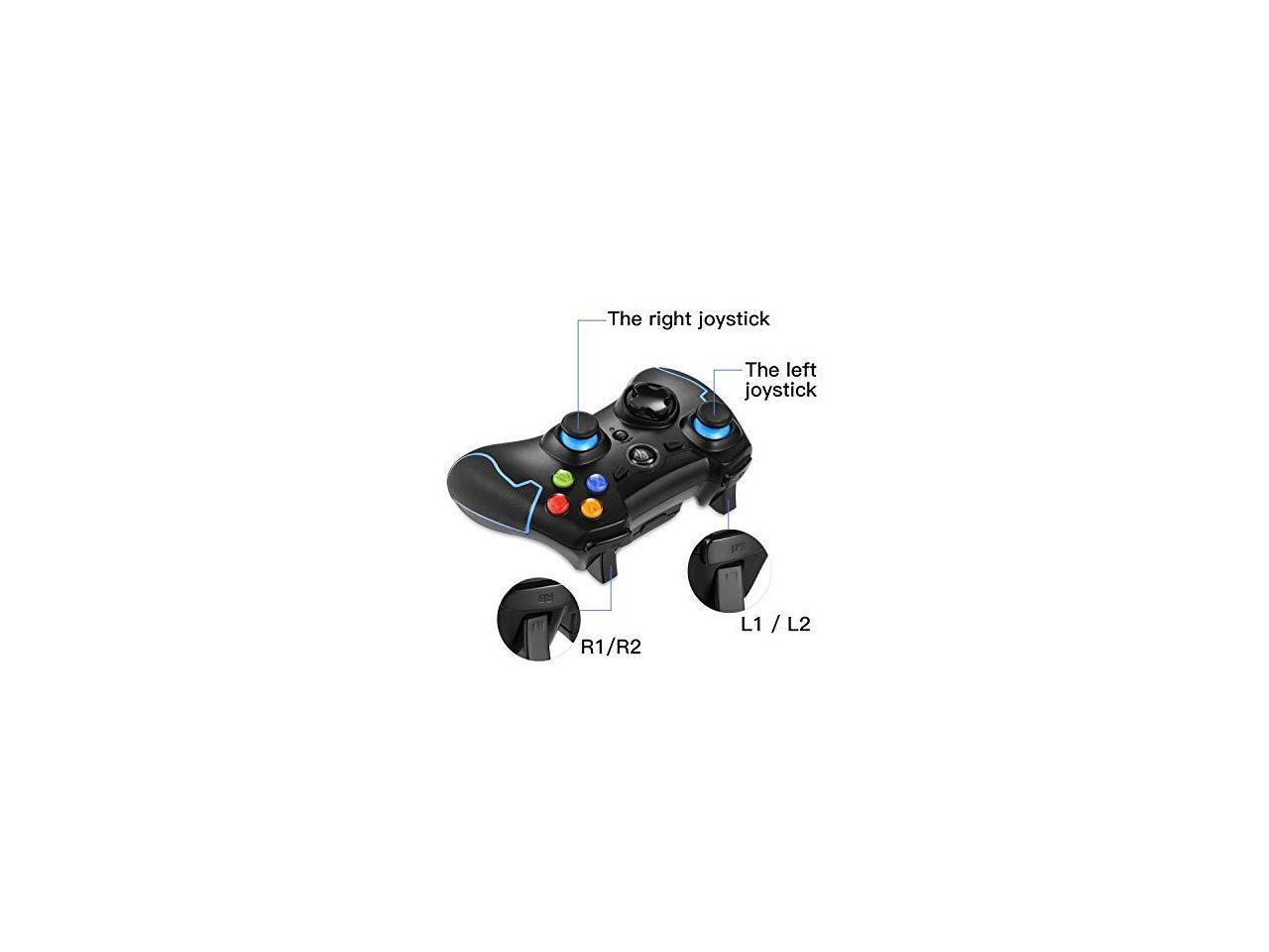24g Wireless Controller For Ps3 Pc Gamepads With Vibration