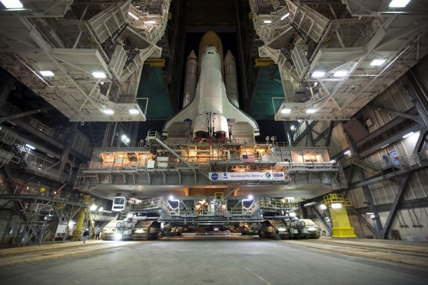 Discovery Space Shuttle, Rollout, factory, industry free ...