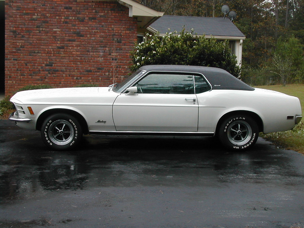 1970 Mustang Grande I Got This Car For My 17th Birthday