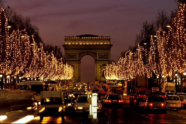 Image result for Christmas Champs Elysées