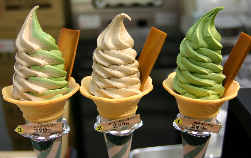 Image result for wasabi ice cream japan