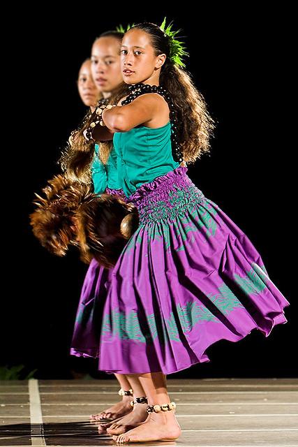 Keiki Hula Shot At The Moku O Keawe Hula Competition At