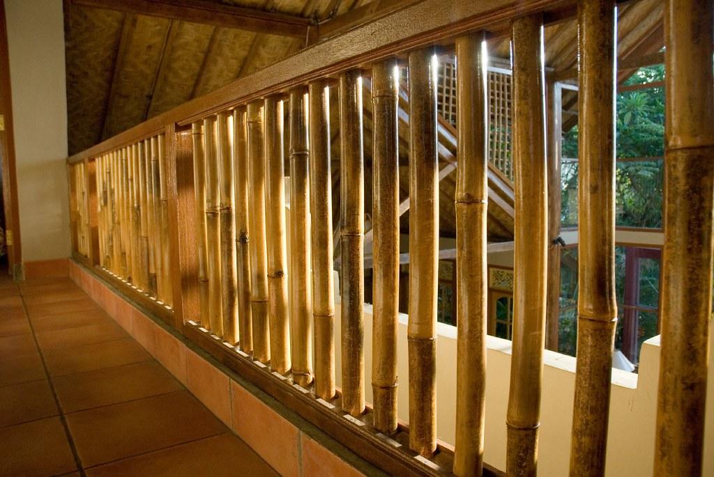 Bali Beach House 2006 Bamboo Railing Jesse Wagstaff