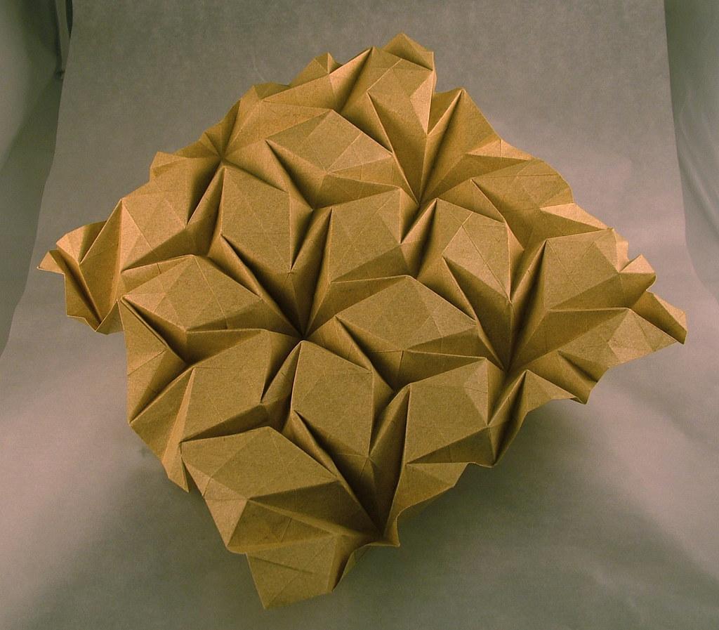 Rhombus Waterbomb Flagstone Tessellation So I Think I