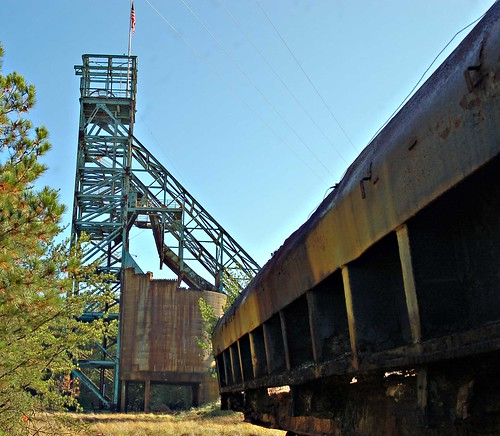 Central Shaft Copperhill Tn The Only Remaining