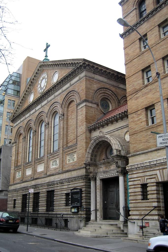 NYC Greenwich Village Judson Memorial Baptist Church