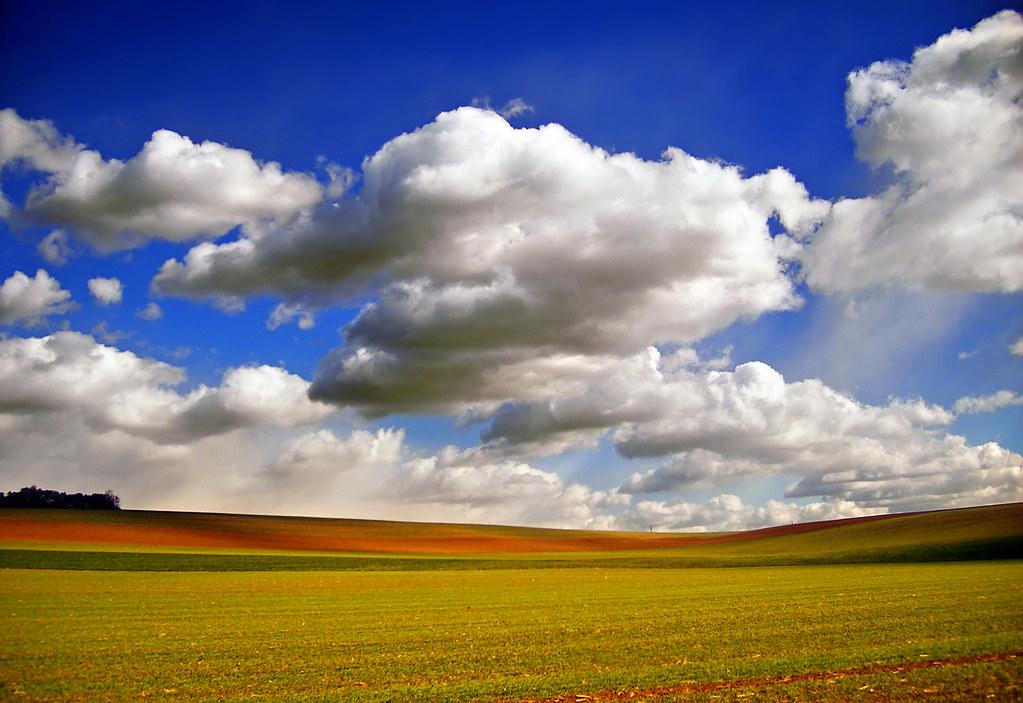 Brightening Field And Sky Weisenberg Township Lehigh