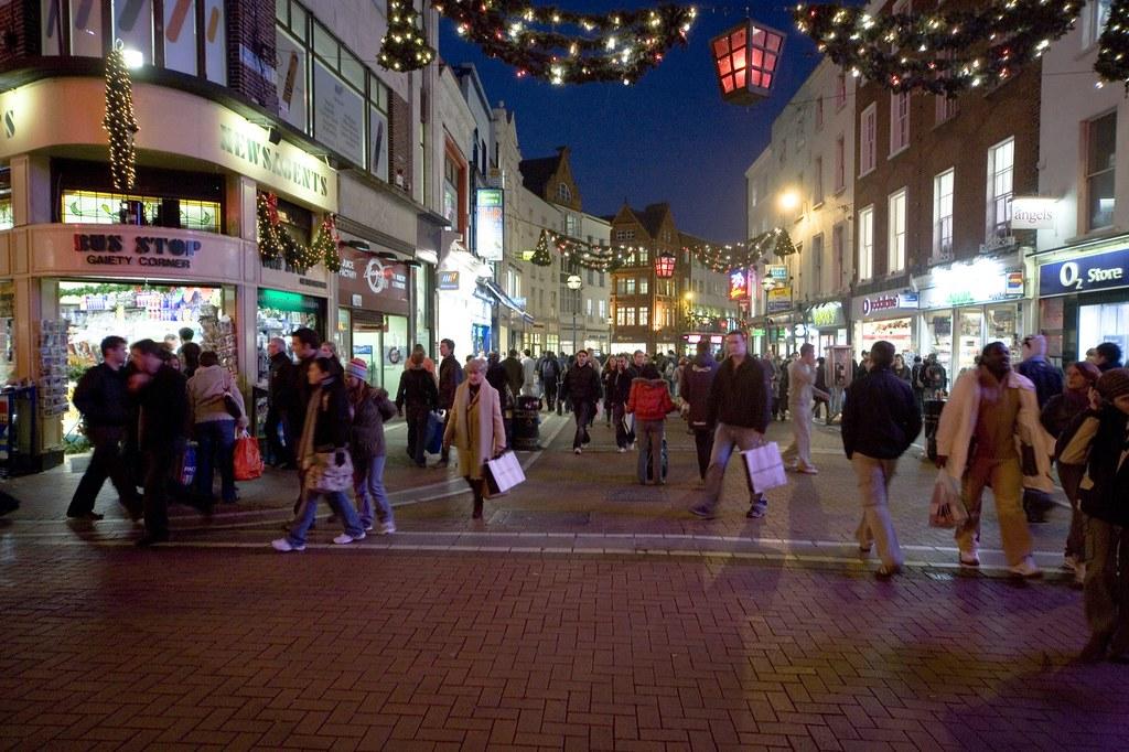 Christmas Shopping Grafton Street William Murphy Flickr