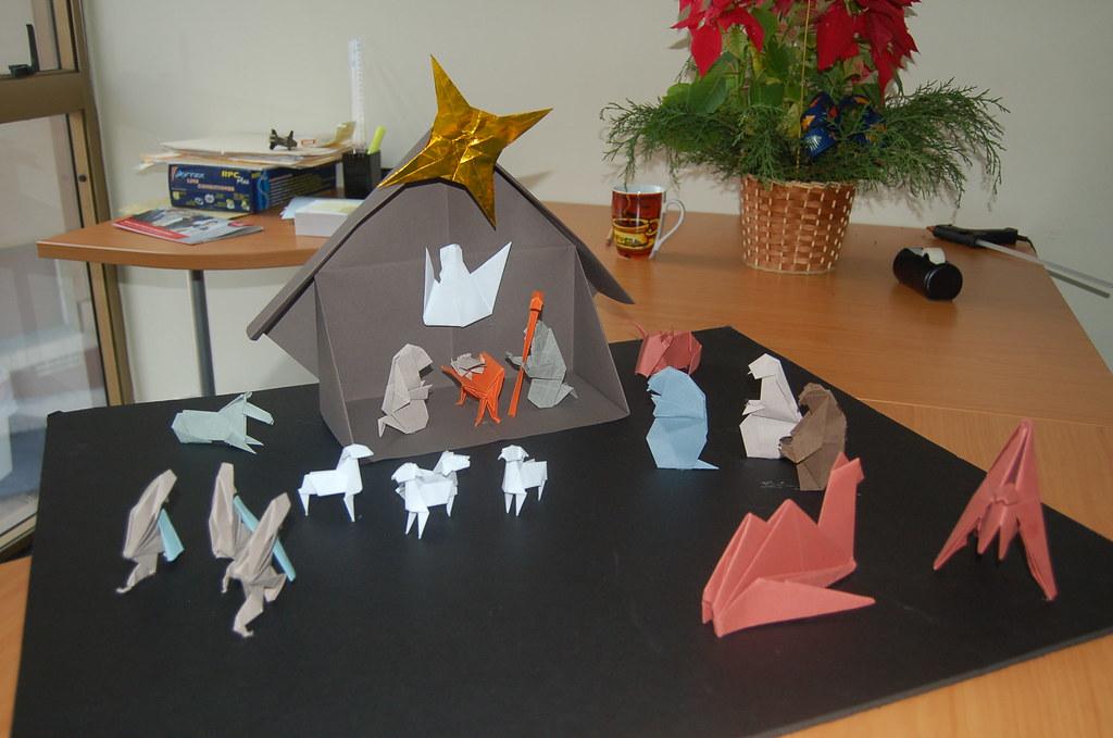 Origami Nativity Scene By Klaus Dieter Ennen I Made