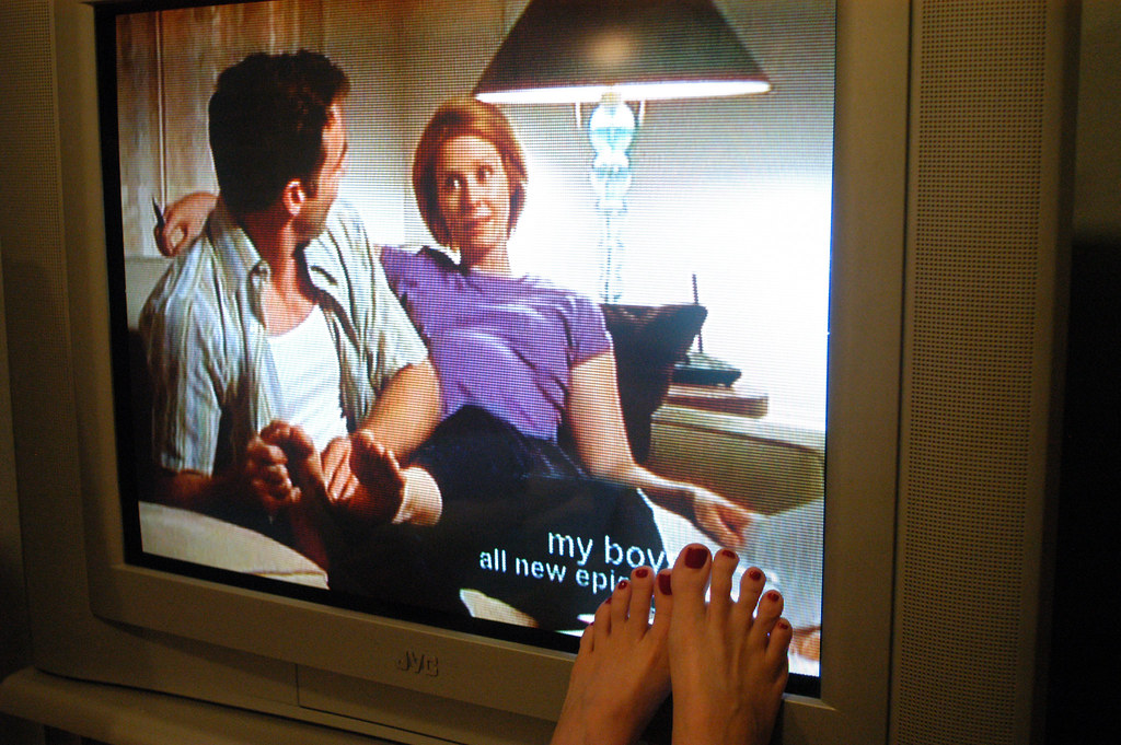 Watching A Foot Massage On The Tv Show Sex Amp The City