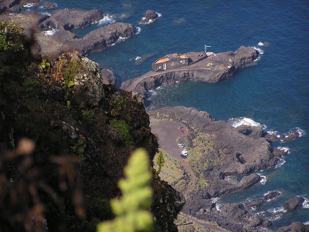 Mirador de La Peña vistas El Golfo Isla de El Hierro