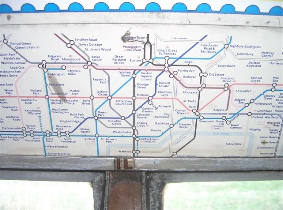 Old tube map   Matthew Somerville   Flickr     Old tube map   by Matthew Somerville