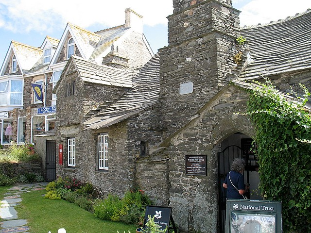 Tintagel Village Post Office This Is A 600 Year Old