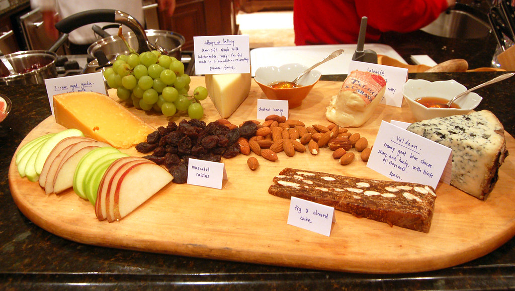 Liberty Christmas Dinner Cheese Board Each Cheese Is