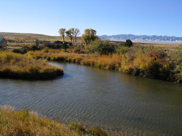 Sweetwater River Martins Cove Wyoming Sweetwater River