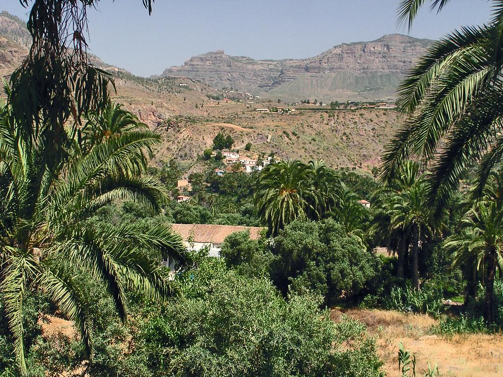 El Ingenio de Santa Lucia Barranco de Tirajana isla de Gran Canaria 00
