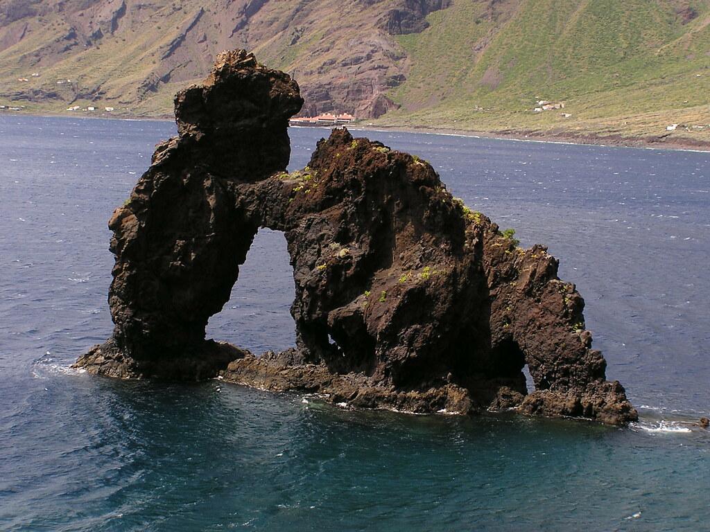 Roque de Bonanza Las Playas Valverde isla de El Hierro