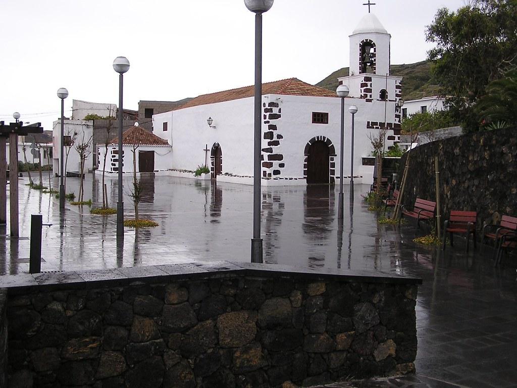 Iglesia de San Pedro El Mocanal isla de El Hierro Islas Canarias 14