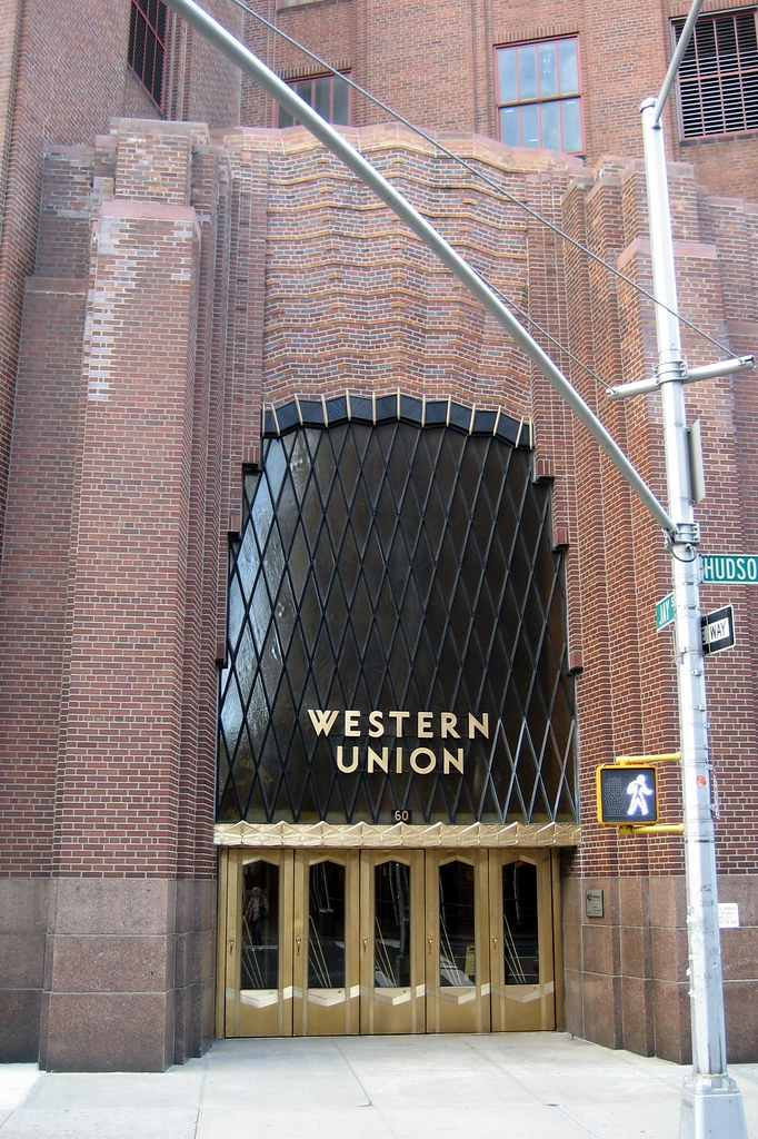 Nyc Tribeca Western Union Building This 1930 Art Deco