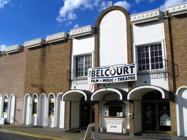 Belcourt Theater wwwbelcourtorgvenuephp From the