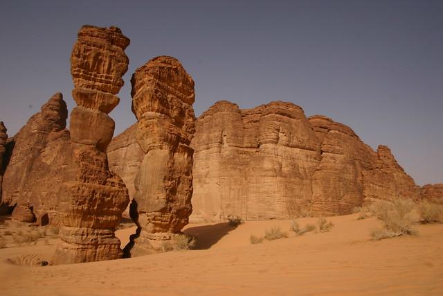 Saudi Arabia Al Ula Is Characterised By Its Attractive