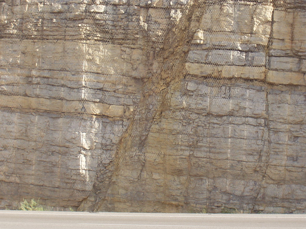 Fault Gouge Madera Limestone Tijeras Nm Chet Weiss
