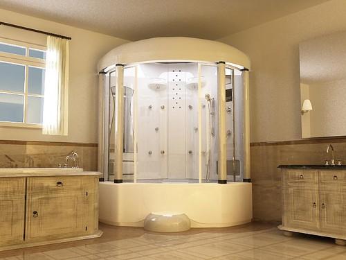 Bathroom Shower / Bathtub Combination