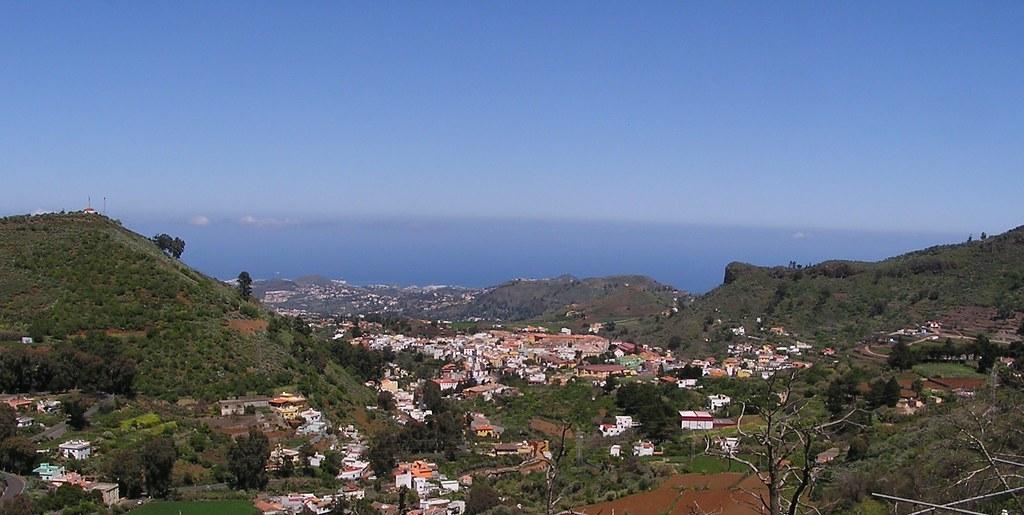 Vista de Vega de San Mateo Isla de Gran Canaria 02