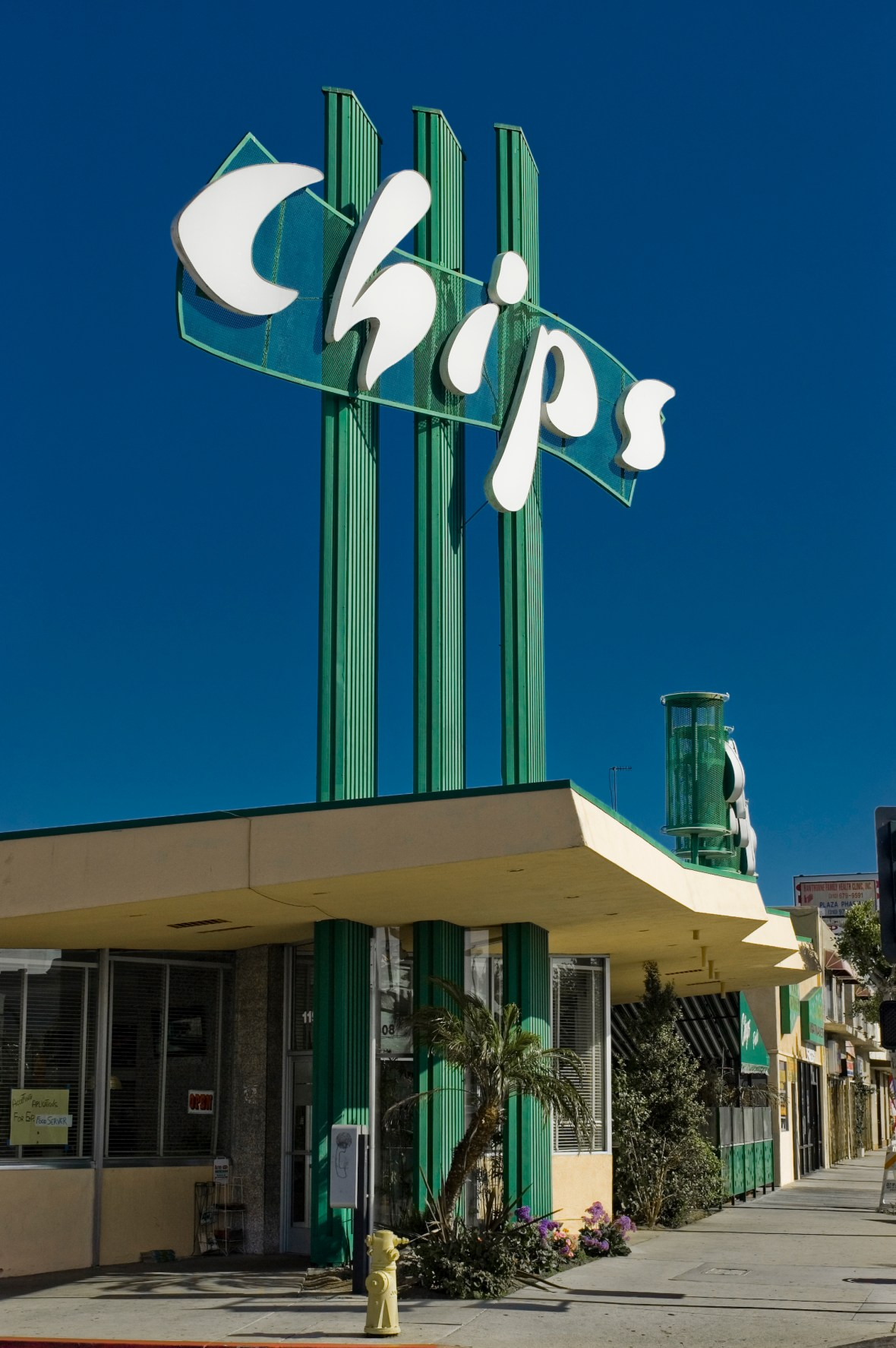 Chips Restaurant - 11908 Hawthorne Boulevard, Hawthorne, California U.S.A. - April 21, 2007