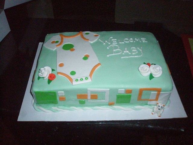 Onesie Cake Baby Shower