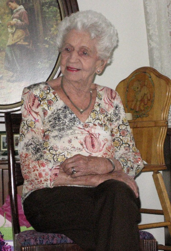 Great Grandma Hookey | This is my 99 year old great ...