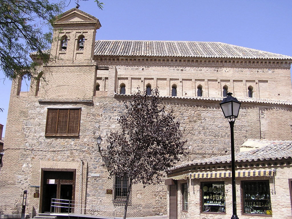 Toledo entrada Sinagoga del Transito Museo Sefardi 05