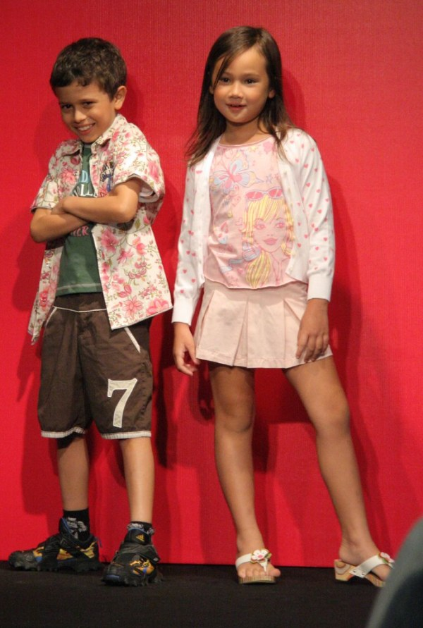 Cute Young Models | These 2 cute young models were stars ...