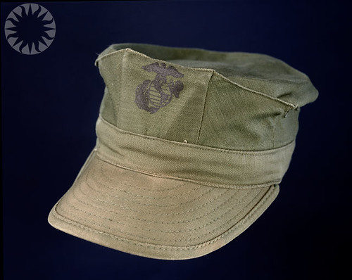 U S Marine Corps Utility Cap For Enlisted Soldier Flickr