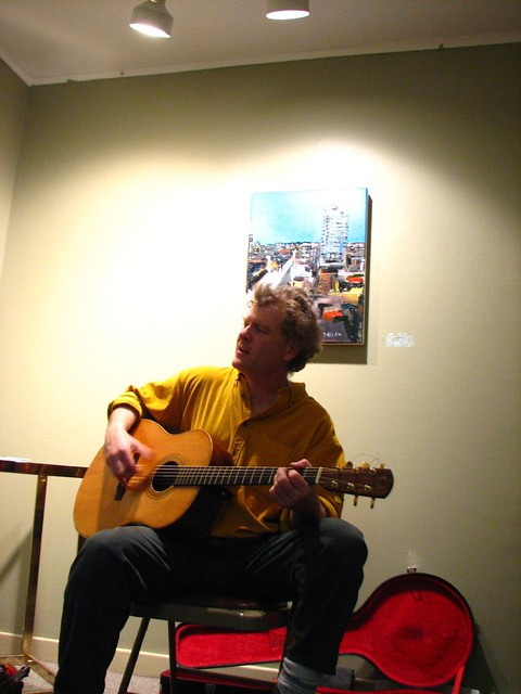 Sandy on Guitar