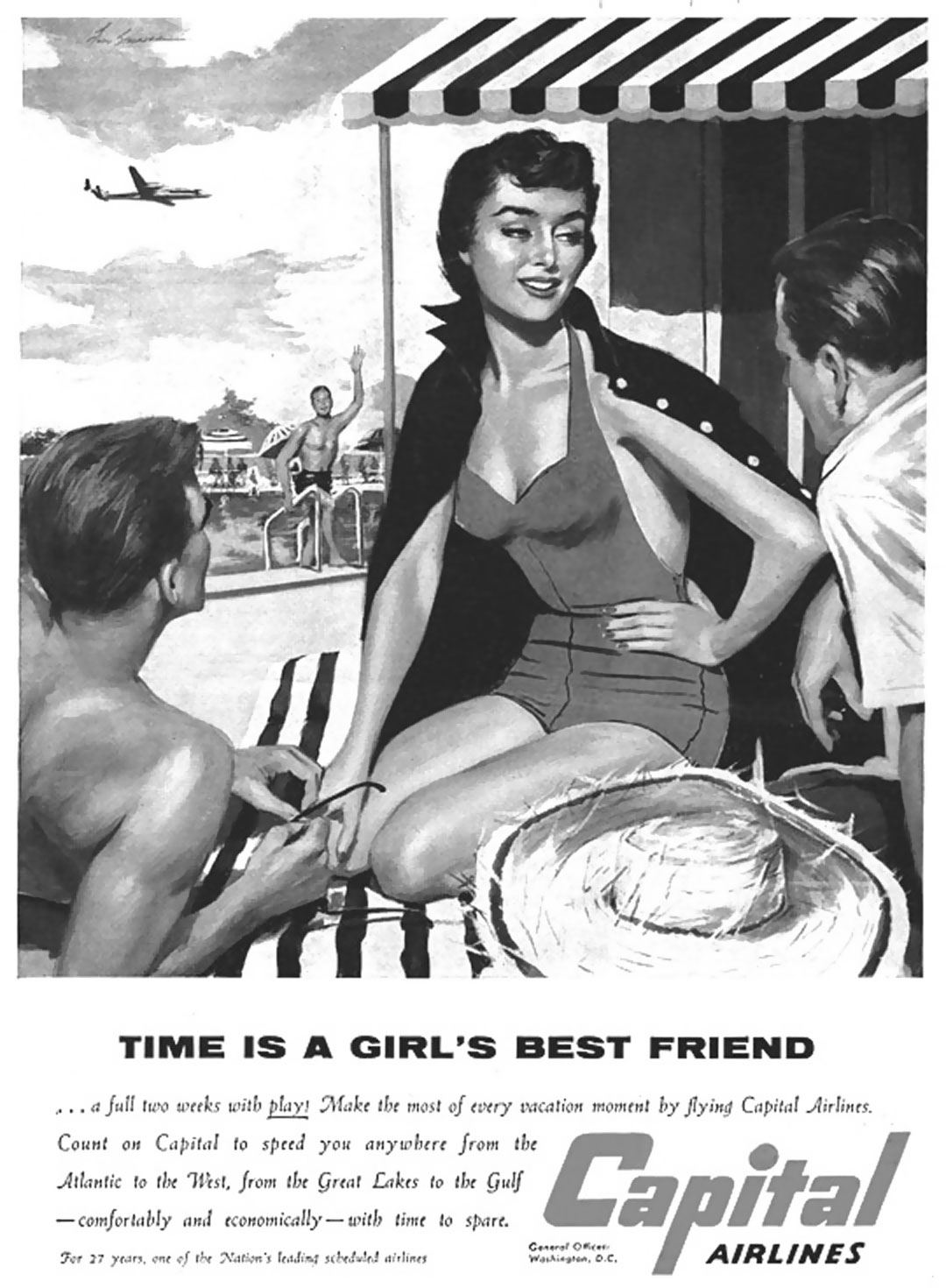 Capital Airlines - 1950's