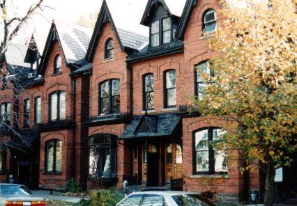 The Annex Toronto Victorian Homes Yorkville Flickr