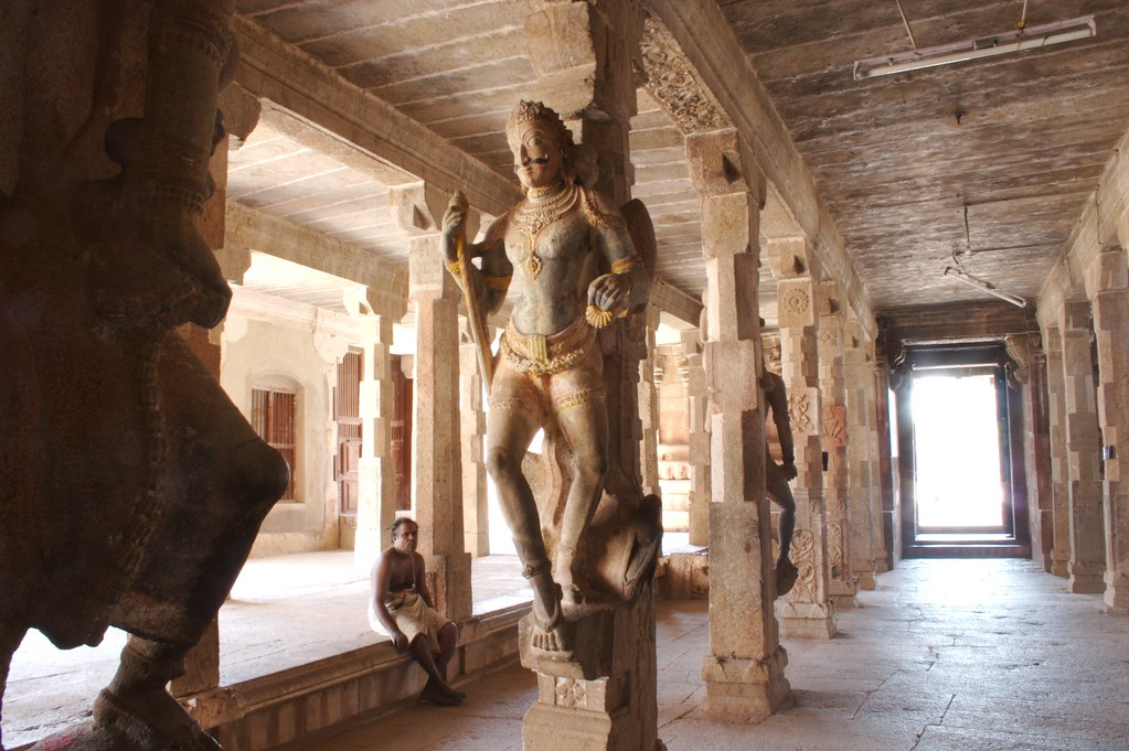 Vishnu Temple Thirumayam Inside The Vishnu Temple In