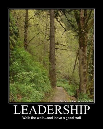 Leadership leader