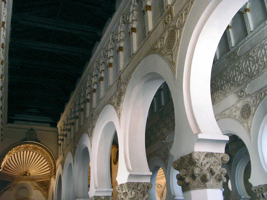 Toledo arcos Santa Maria la Blanca antigua Sinagoga 06