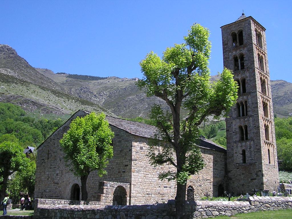 Valle de Bohi Lerida vista Iglesia de San Clemente de Tahull 12