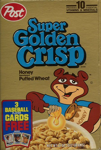 Super Golden Crisp Super Golden Crisp Cereal Box With