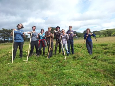 Learn to scythe course group 2017