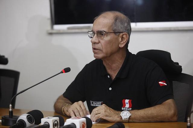 30 pessoas são assassinadas em Belém após morte de policial militar, Jeannot Jansen, titular da Segup