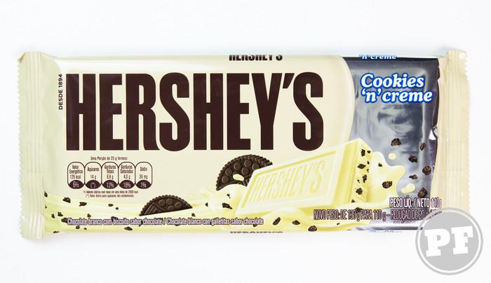 Chocolate Branco e Cookies da Hershey's Cookies 'n' Creme por PratoFundo.com