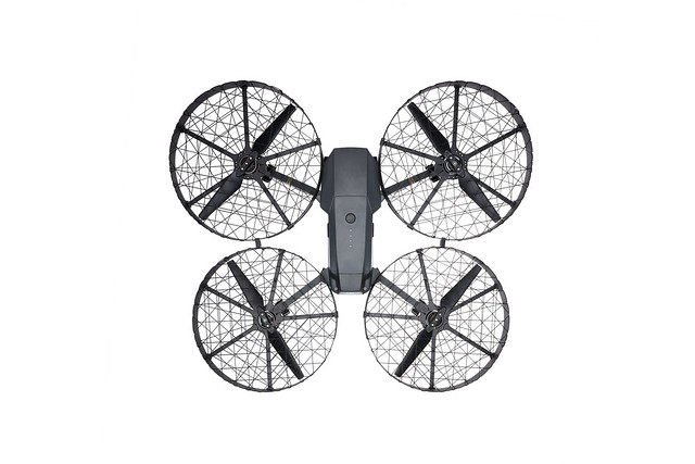 Mavic Pro with Propeller Cage
